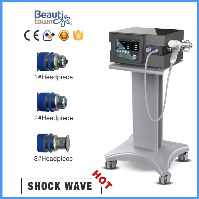 Shockwave therapy machine SW9 diaplay