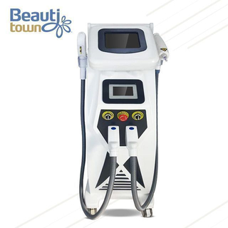 E-light+rf+nd yag laser multifunction beauty machine BM11